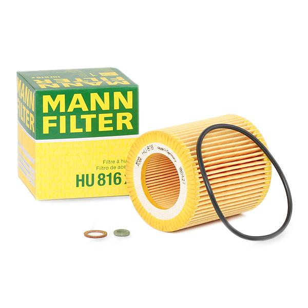 Ölfilter MANN-FILTER HU816x Erfahrung