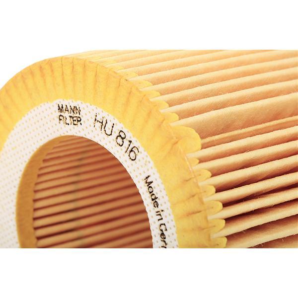 Ölfilter MANN-FILTER HU 816 x 4011558296407