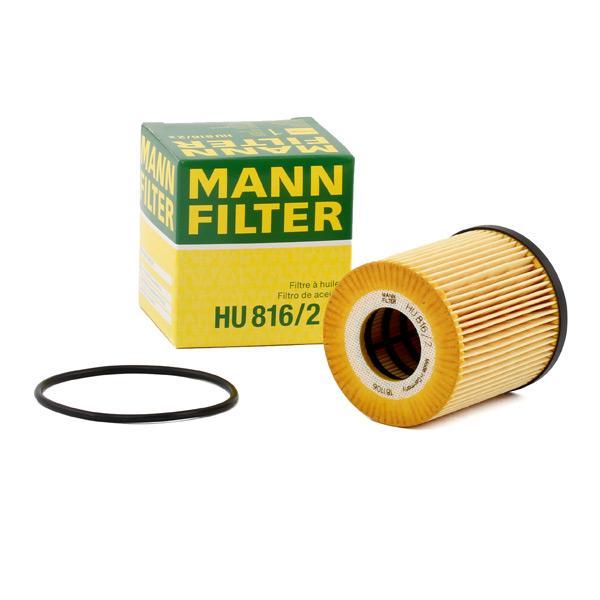 Ölfilter MANN-FILTER HU816/2x Erfahrung