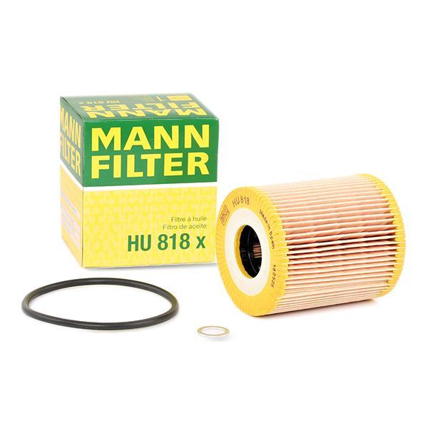 Filter MANN-FILTER HU818x Erfahrung