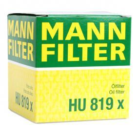 Artikelnummer HU 819 x MANN-FILTER priser