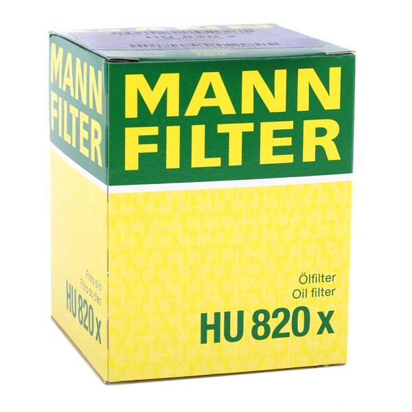 Nº de artículo HU 820 x MANN-FILTER precios