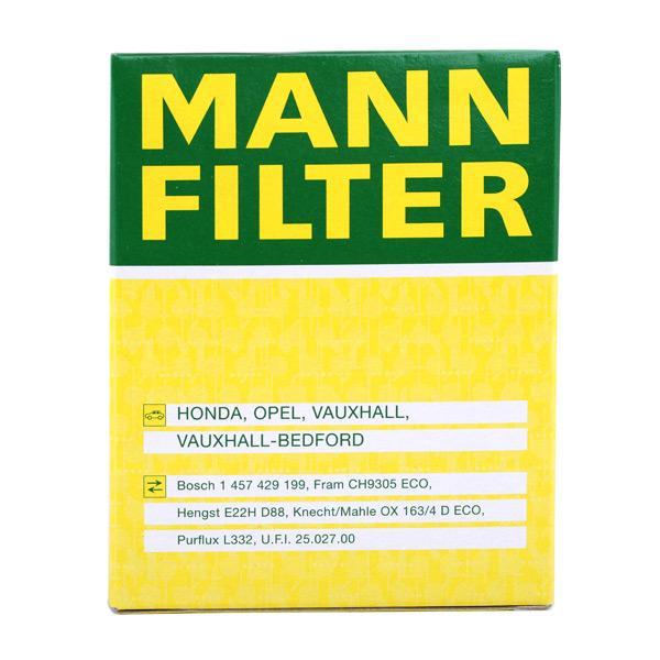MANN-FILTER Art. Nr HU 820 x beneficioso