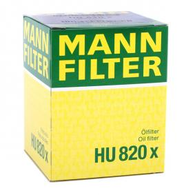 Artikelnummer HU 820 x MANN-FILTER Preise