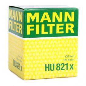 Artikelnummer HU 821 x MANN-FILTER Preise