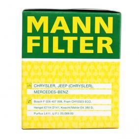 MANN-FILTER Art. Nr HU 821 x günstig