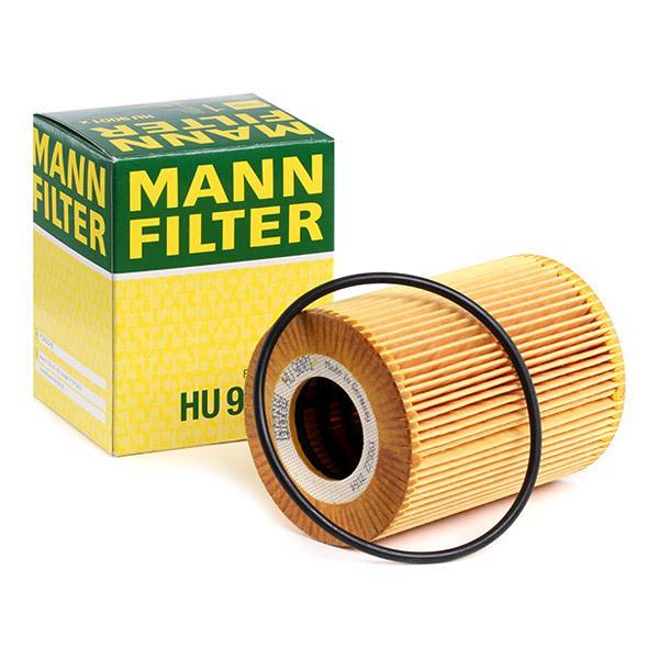 Ölfilter MANN-FILTER HU9001x Erfahrung