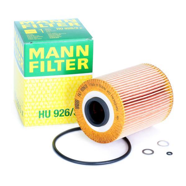 Ölfilter MANN-FILTER HU926/3x Erfahrung