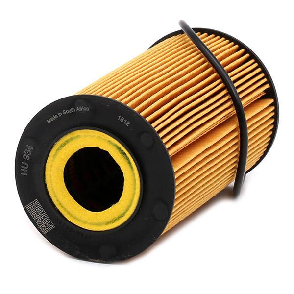 Ölfilter MANN-FILTER HU 934 x 4011558295202