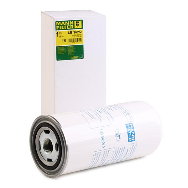 Filter, compressed air system MANN-FILTER LB962/2 expert knowledge