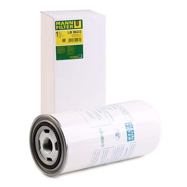 Filtr, technika sprężania powietrza MANN-FILTER LB962/2 fachowa wiedza