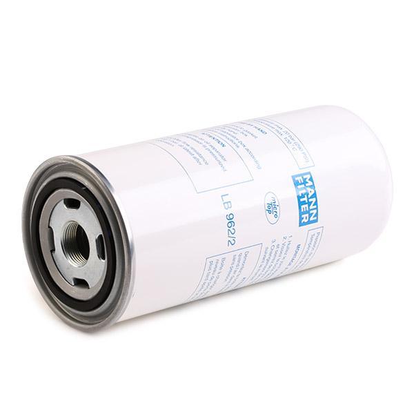 Filtr, technika sprężania powietrza MANN-FILTER LB 962/2 4011558450809