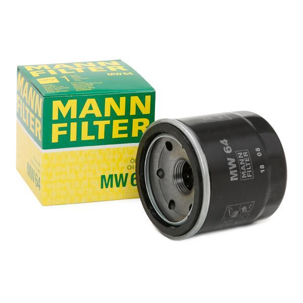 Ölfilter MANN-FILTER MW64 Erfahrung