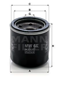 Artikelnummer MW 64 MANN-FILTER Preise