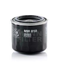 MANN-FILTER  MW 810 Ölfilter Ø: 82mm, Außendurchmesser 2: 65mm, Innendurchmesser 2: 57mm, Innendurchmesser 2: 57mm, Höhe: 74mm