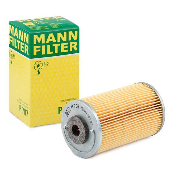 Kraftstofffilter MANN-FILTER P707 Erfahrung