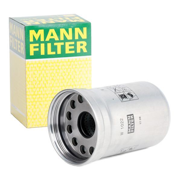 Ölfilter MANN-FILTER W1022 Erfahrung