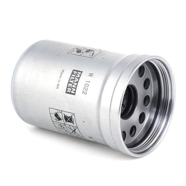 Ölfilter MANN-FILTER W 1022 4011558760403