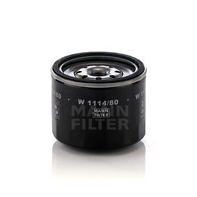 Filtro de aceite W 1114/80 SPORTAGE (K00) 2.0 TD 4WD ac 2003
