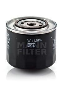 MANN-FILTER  W 1126 Ölfilter Ø: 108mm, Außendurchmesser 2: 71mm, Innendurchmesser 2: 62mm, Innendurchmesser 2: 62mm, Höhe: 95mm