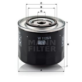 Ölfilter Ø: 108mm, Außendurchmesser 2: 71mm, Innendurchmesser 2: 62mm, Innendurchmesser 2: 62mm, Höhe: 95mm mit OEM-Nummer 5018356