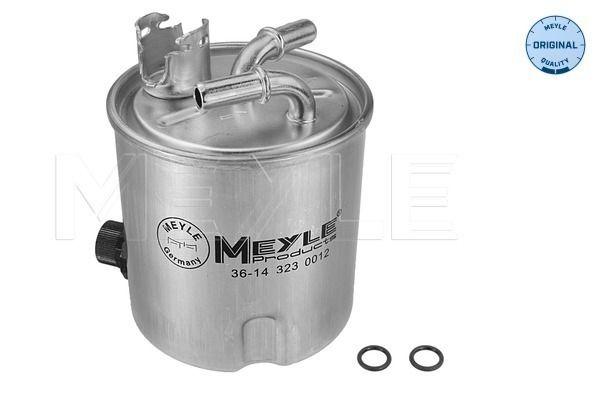 MEYLE  36-14 323 0012 Fuel filter Height: 120mm
