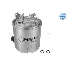 Fuel filter 36-14 323 0012 Qashqai / Qashqai +2 I (J10, NJ10) 1.5 dCi MY 2011