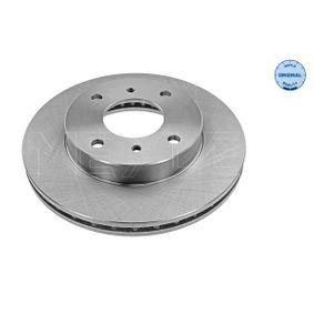 Bremsscheibe Bremsscheibendicke: 22mm, Lochanzahl: 4, Ø: 257mm mit OEM-Nummer 40206-71E00