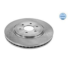 Bremsscheibe Bremsscheibendicke: 28mm, Lochanzahl: 6, Ø: 320mm mit OEM-Nummer 402063X00B