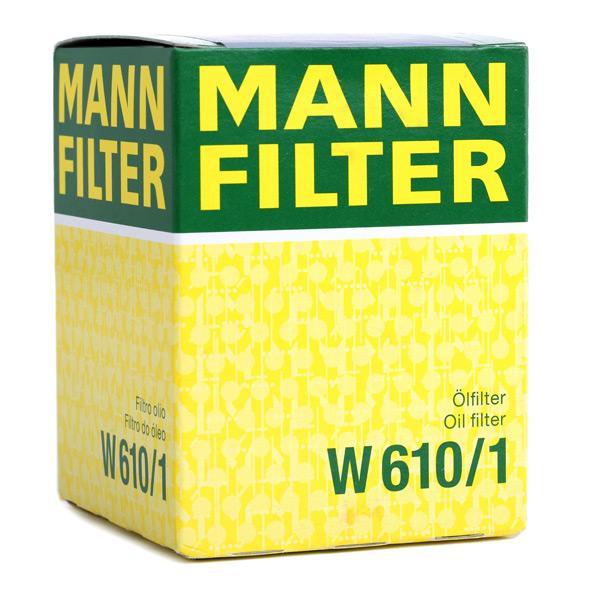 Nº de artículo W 610/1 MANN-FILTER precios