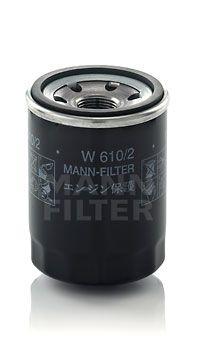 MANN-FILTER  W 610/2 Ölfilter Ø: 66mm, Außendurchmesser 2: 62mm, Innendurchmesser 2: 54mm, Innendurchmesser 2: 54mm, Höhe: 90mm
