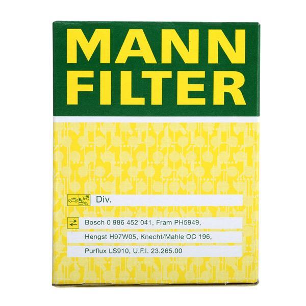 MANN-FILTER Art. Nr W 610/3 günstig