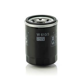 MANN-FILTER W610/3 EAN:4011558738402 negozio online