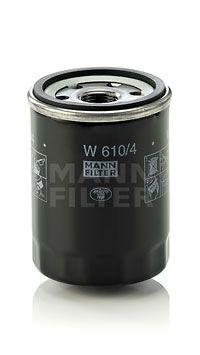 Ölfilter MANN-FILTER W 610/4 4011558738501