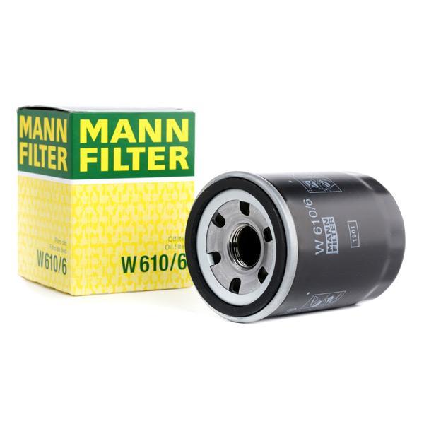 Ölfilter MANN-FILTER W610/6 Erfahrung