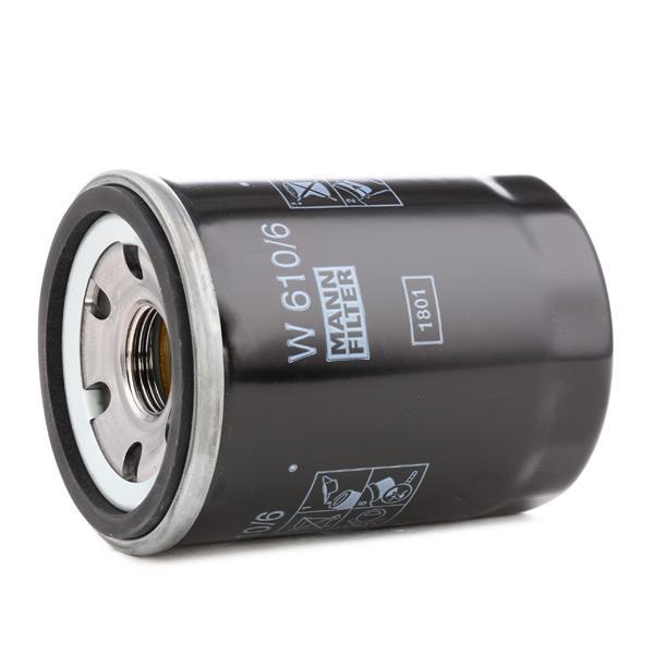 Oil Filter MANN-FILTER W 610/6 4011558759506