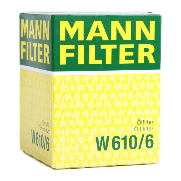 Article № W 610/6 MANN-FILTER prices