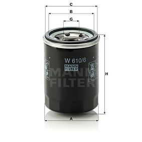 MANN-FILTER W610/6 EAN:4011558759506 Shop