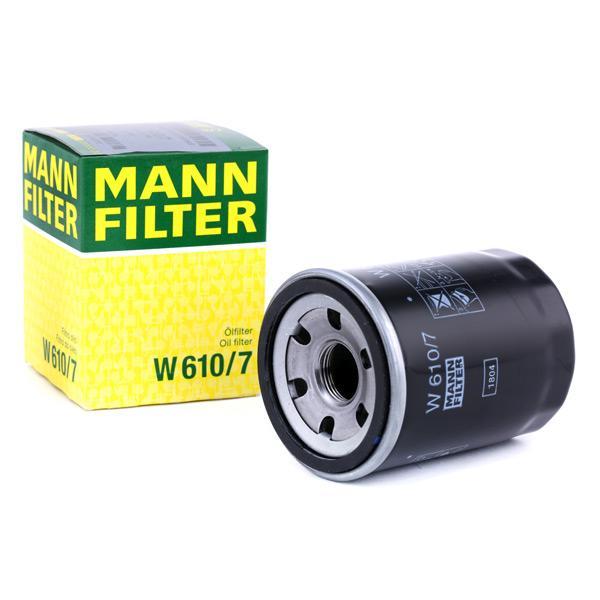 Ölfilter MANN-FILTER W610/7 Erfahrung