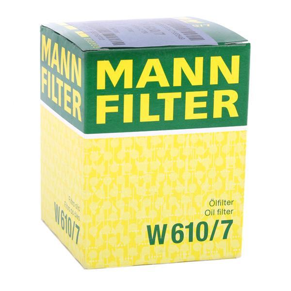 Artikelnummer W 610/7 MANN-FILTER Preise