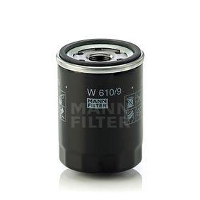 Oil Filter W 610/9 RAV 4 II (CLA2_, XA2_, ZCA2_, ACA2_) 2.0 4WD (ACA21, ACA20) MY 2005