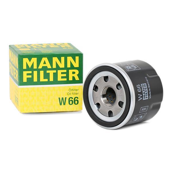 Oil Filter MANN-FILTER W66 expert knowledge