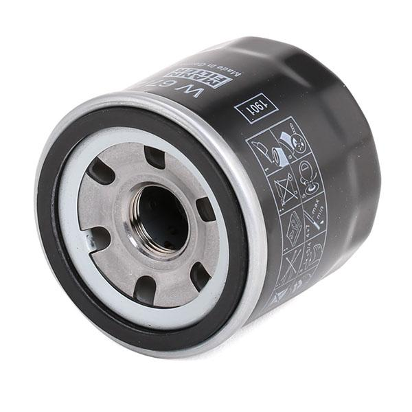 MANN-FILTER Oil Filter with one anti-return valve