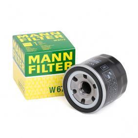 Ölfilter Ø: 66mm, Außendurchmesser 2: 62mm, Innendurchmesser 2: 54mm, Innendurchmesser 2: 54mm, Höhe: 65mm mit OEM-Nummer 4708878
