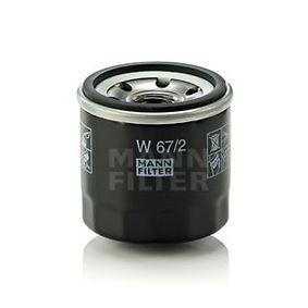 MANN-FILTER W 67/2 4011558738105