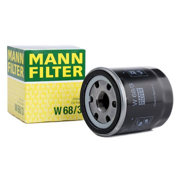 Ölfilter MANN-FILTER W68/3 Erfahrung
