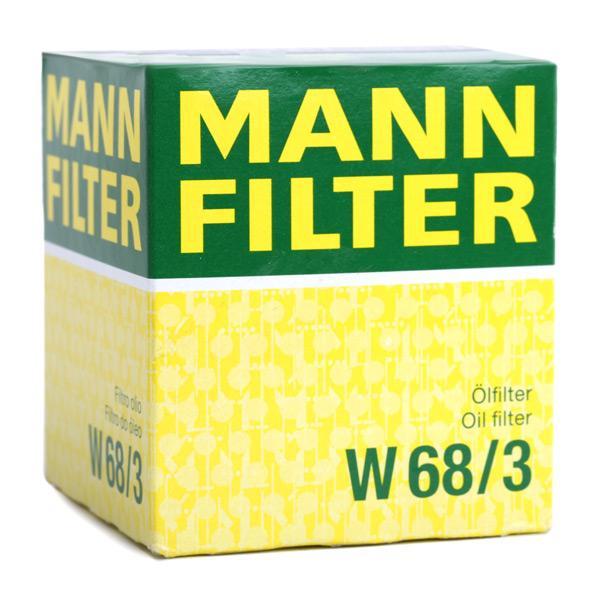 Artikelnummer W 68/3 MANN-FILTER Preise