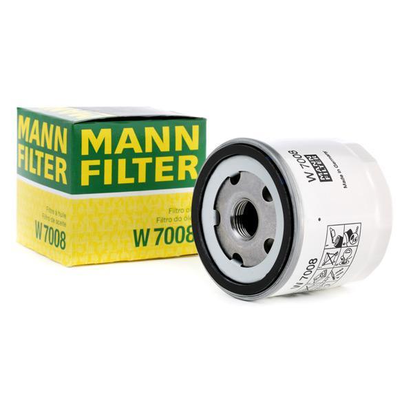 Oil Filter MANN-FILTER W7008 expert knowledge