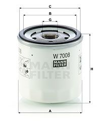 MANN-FILTER W7008 EAN:4011558018412 online store