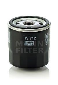Oil Filter MANN-FILTER W 712 4011558700508
